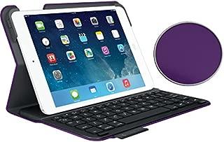 Logitech Ultrathin Keyboard Folio for iPad Mini 1, iPad Mini 2, iPad Mini 3, - Purple (NOT for iPad Mini 4 - will NOT fit))