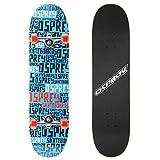 Osprey Skateboards para principiantes, 31 pulgadas, doble patada cóncava, para adolescentes y niños con 7 capas de arce, peso máximo del usuario, varios diseños, REPETAR