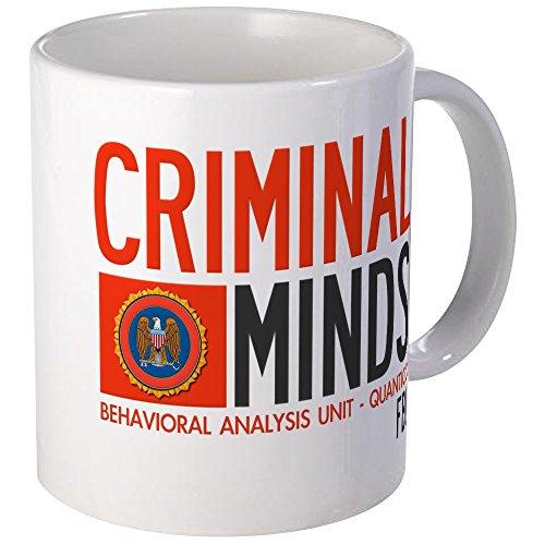 CafePress Criminal Minds FBI Bau Tasse–S Weiß