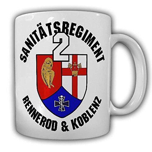 Tasse Sanitätsregiment 2 SanRgt Bundeswehr Rennerod Koblenz Sanitäter #24998