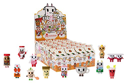 Tokidoki Breakfast Besties (Random Blind Box Collectible), Multicolor