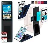 Hülle für Huawei Ascend Y530 Tasche Cover Hülle Bumper   Blau   Testsieger