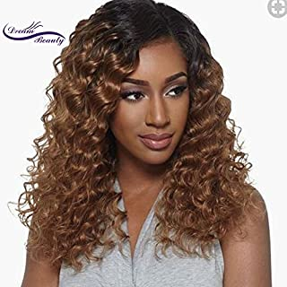 Lace Front Human Hair Wigs Deep Wave Curl 8A Pre Plucked Lace Human Hair Wigs For Black Women Brazilian Lace Front Wigs (16, lace frontal wig)
