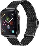 baklon Compatibile con Cinturino Apple Watch 42mm 44mm 45mm, Cinturino in Acciaio Inossidabile di Ricambio Sportivo Compatibile con iWatch series SE/7/6/5/4/3/2/1