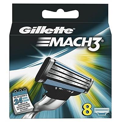 Gillette Mach3 Razor Blades, Pack of 8 from Gillette