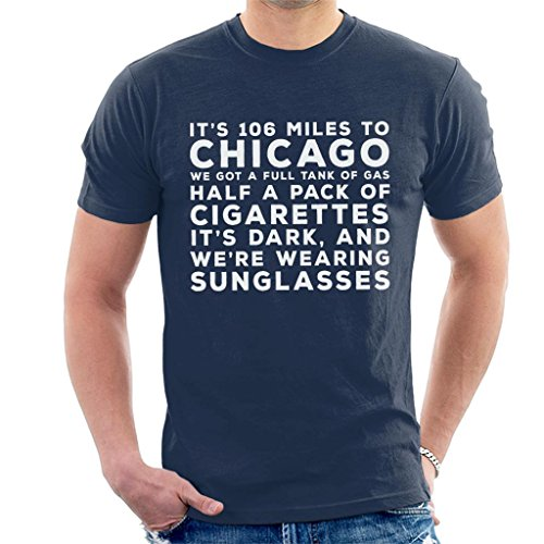 Blues Brothers Sunglasses Quote Men's T-Shirt