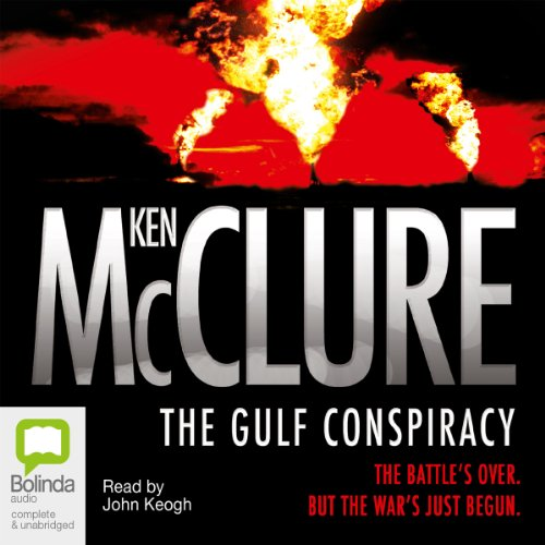 The Gulf Conspiracy audiobook cover art