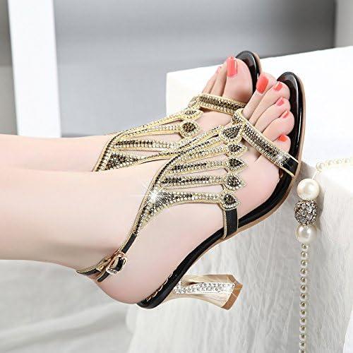 GTVERNH Sandales Summer Diamond Diamond Talons Talons Hauts Sexy Les Talons Les Chaussures De Femmes.  les clients d'abord la réputation d'abord