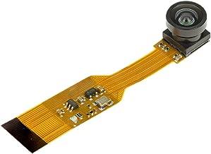 Arducam for Raspberry Pi Zero Camera Module Wide Angle 160°, 1/4 Inch 5MP OV5647 Spy Camera with Flex Cable for Pi Zero and Pi Compute Module