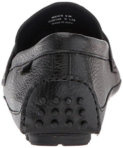 Cole Haan Men's Provincetown BIT Driver II Loafer, Black Pebbled, 11.5 Medium US