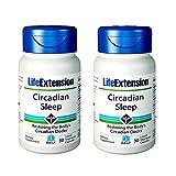 Life Extension Circadian Sleep 2 Pack Bundle