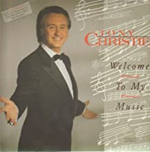 Tony Christie - Welcome To My Music - White Records - 211 842