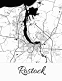 Rostock: Deine Stadt, deine Region, deine Heimat!   Notizbuch DIN A4 liniert 120 Seiten Geschenk (German Edition)