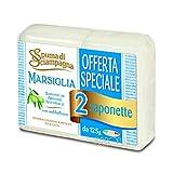 Spuma Di Scaimpagna Saponetta Marsiglia 2 x 125g Con Antobatterico...