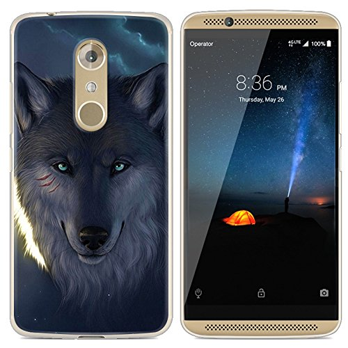 Easbuy Handy Hülle Soft Silikon Case Etui Tasche für ZTE Axon 7 Mini Smartphone Cover Handytasche Handyhülle Schutzhülle