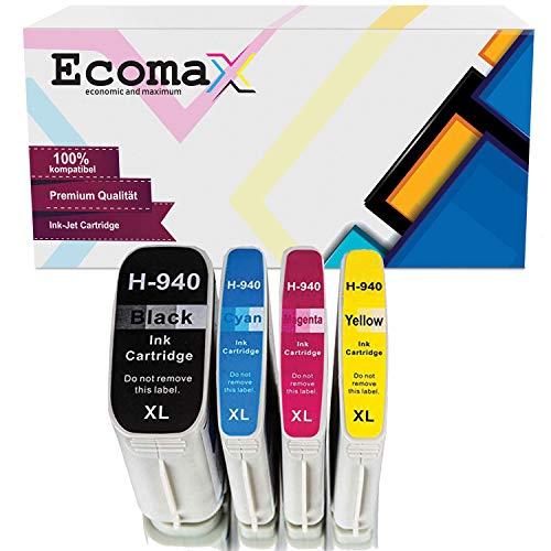 Druckerpatronen kompatibel zu HP 940XL für HP OfficeJet Pro 8000 Enterprise Wireless 8500 Premier 8500A Plus 8500 Wireless