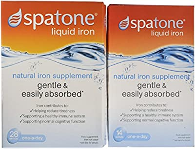 Spatone Natural Liquid Iron Supplement - 42 Sachets from Nelsons