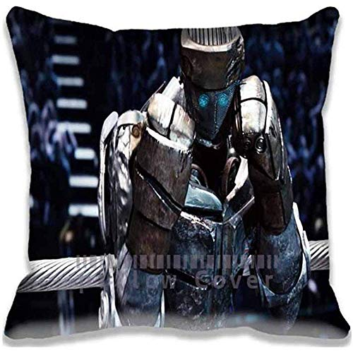 A+ Generic Throw Cover Real Steel Atom Pillow Cases Cushion Covers Size:16 * 16 Inch