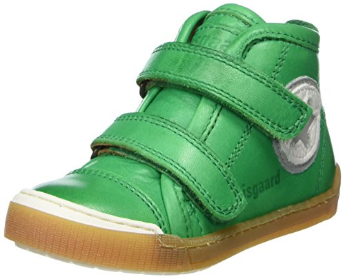 Bisgaard Unisex-Kinder Klettschuhe Hohe Sneaker, Grün (Green), 28 EU