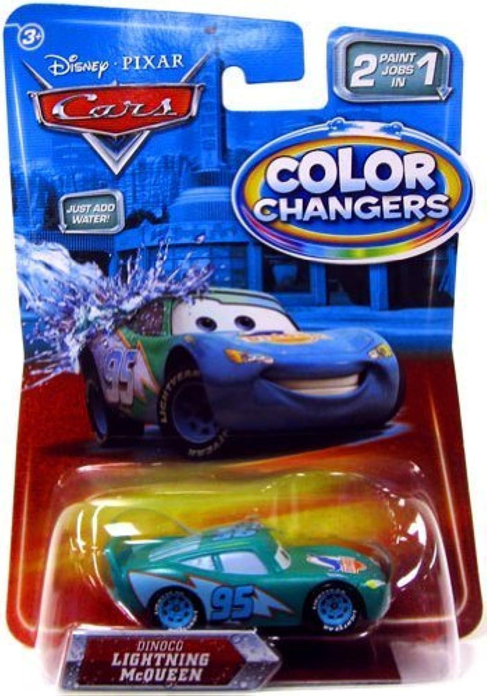Disney   Pixar CARS Movie 155 color Changers Dinoco Lightning McQueen by Mattel