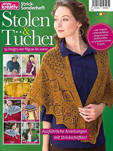 Stricken Sonderheft: Stolen & Tücher: 19 Designs von filigran bis warm