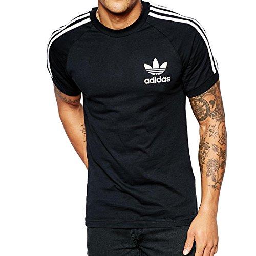 adidas T-Shirt California Small Noir - Noir