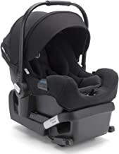 Bugaboo Turtle by Nuna Car Seat + Base - Rear-Facing Baby Car Seat - Fits Infants 4 to 32 Pounds - 5-Point Safety Harness - Compatible with Bugaboo Fox Stroller - Travel Car Seat - Black