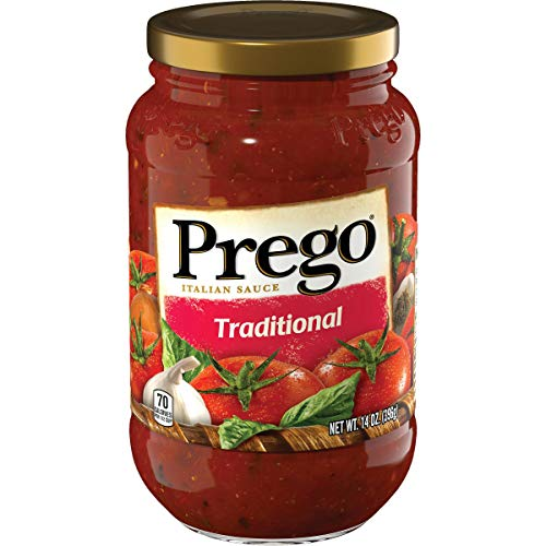 100 Natural Prego Traditional Italian Sauce