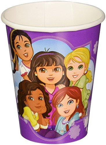 amscan–Dora y Amigos 300ml Vasos de Papel