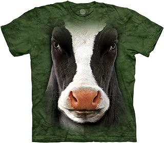 Kids' Black Cow Face