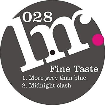 More Grey Than Blue