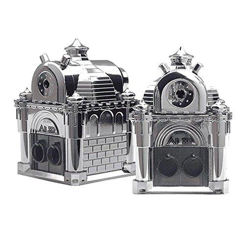 Titi Castle Shaped High Shapa Manual Metal Steel Pencil Sharpener (Castle)