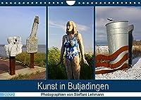Kunst in Butjadingen 2022 (Wandkalender 2022 DIN A4 quer): Skulpturale Kunstwerke in Butjadingen an der Nordseekueste. (Monatskalender, 14 Seiten )