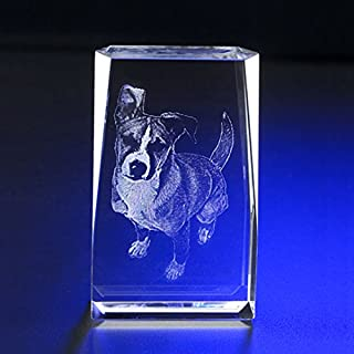 Personalized Engraved Photo Crystal Rectangle 3