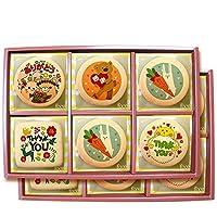 快気祝い お見舞い返し 入院中にお世話になった方々への感謝の気持ちをメッセージクッキーで贈ろう プリントクッキー 45枚セット 個包装 ギフトボックス