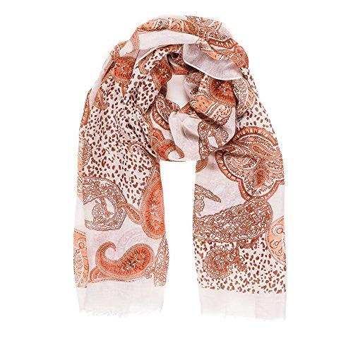 MELIFLUOS DESIGNED IN SPAIN Pañuelos Fular Foulard Mujer Bufandas Estampado Diseño Español 100% Viscosa (NF45-1)
