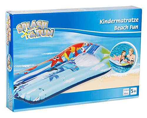 Splash & Fun kindermatras Beach Fun kijkvenster 110x60cm