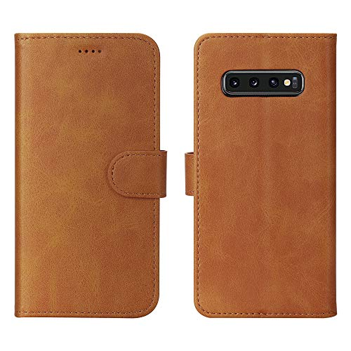 Feitenn Compatible with S10 Case 2019, S10 Case Wallet, Stand Credit ID Card Slots...