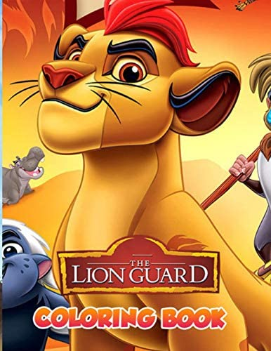 The Lion Guard Coloring Book JUMBO Coloring Book For Kids Knowledge Development Stress Relieving product image