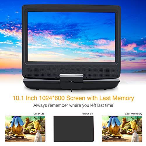 NAVISKAUTO 10.1' Reproductor de DVD portátil