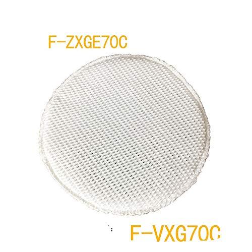 Zyj stores Luftreinigerteile F-ZXGE70C Waschfilter Luftreiniger Luftbefeuchter Filter geeignet for Panasonic F-ZXG70C N/R Ersetzen (Größe : 4pcs)