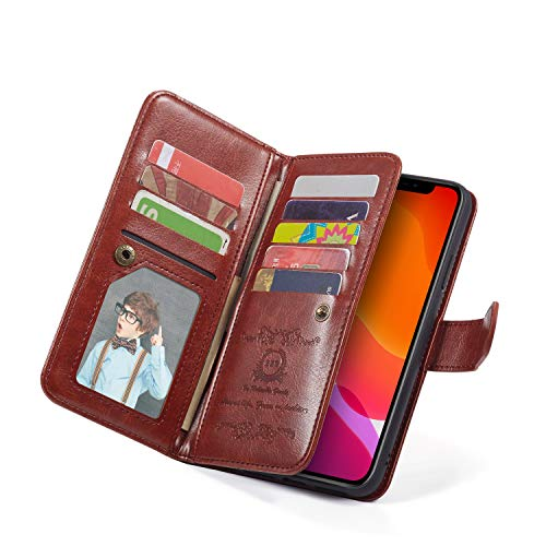 """Wallet Leather Flip Card Holder Case, for Apple iPhone 8 Plus/iPhone 7 Plus/iPhone 6S Plus(5.5"""" Display), for iPhone 11 Pro Max"""
