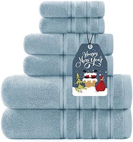 Sofi Luxury 700GSM Towels Bathroom Sets 6 Piece Soft Turkish Cotton Bath Towel Set Spa Towels product image