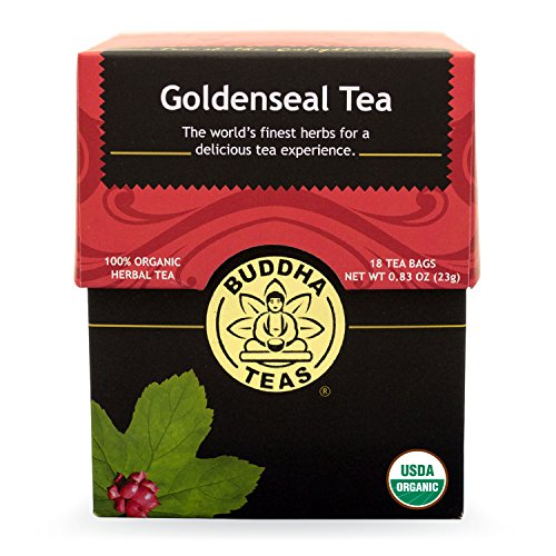 Buddha Teas Goldenseal Tea, 18 Count (Pack of 6)
