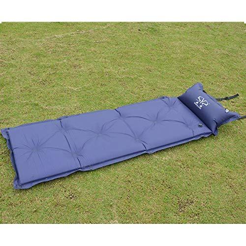 HOUMEL Dubbele Camping Mat Opblaasbare Kamp Roll Matrassen Zelf Opblaasbaar, Camping Matrassen Met Kussen Voor Outdoor Wandelen Reizen Hangmat Tent 5 cm Dikke
