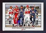Unterzeichnet Lewis Hamilton Fernando Alonso Mark Webber