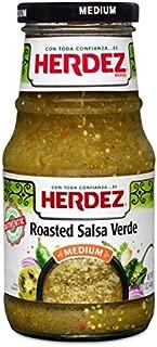 (2 Pack) Herdez Roasted Salsa Verde Medium - 15.7 Ounces