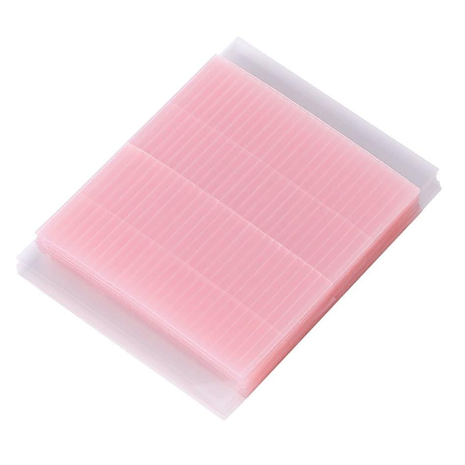 インキュバス集まる野菜Lamdoo 50ピース見えない繊維二重まぶたの粘着ステッカーテープ技術的なアイテープ