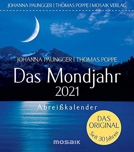 Das Mondjahr 2021: Abreißkalender - Das Original