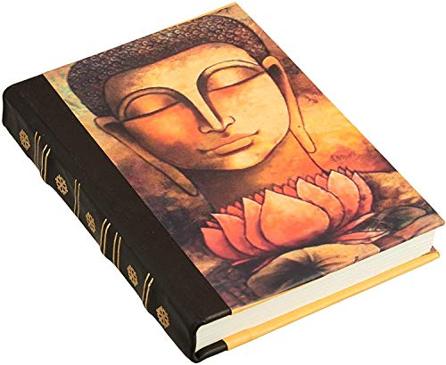 5x7 Buddha Writing Journal Hardcover Eco-Friendly Unlined Paper Dairy Art Sketchbook Notebook Notepads To Write In Multicolor Travel Diary To Write In for Writers Authors - Unique Memory Journal